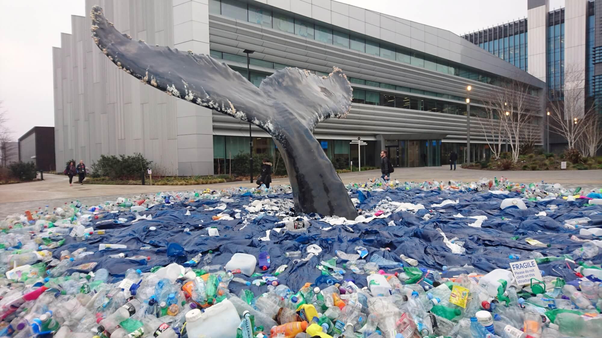 Nouveau Réaliste Baleine à bosse plastique PVC Toy Figure