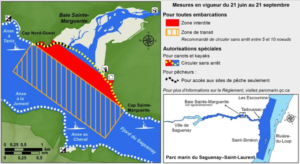 Zone de quiétude de la Baie Sainte-Marguerite