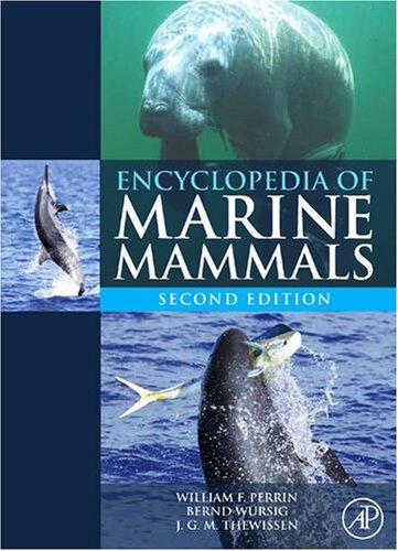 Page couverture de l'Encyclopédie des mammifères marins