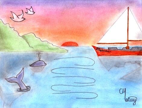Mon fleuve et moi dessin
