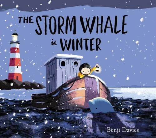 Cover of Benji Davis' book The Storm Whale in Winter.